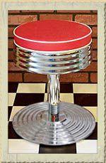 diner m bel im american diner style dinerb nke tische oder theken retro diner kitchen. Black Bedroom Furniture Sets. Home Design Ideas