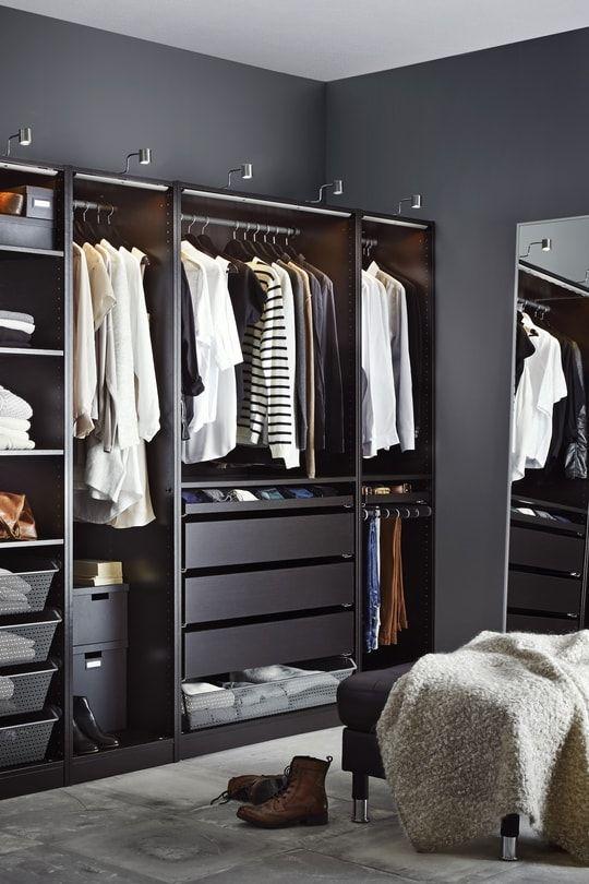 dressing ikea 20 mod les bien pratiques dressing ikea dressing et ikea. Black Bedroom Furniture Sets. Home Design Ideas