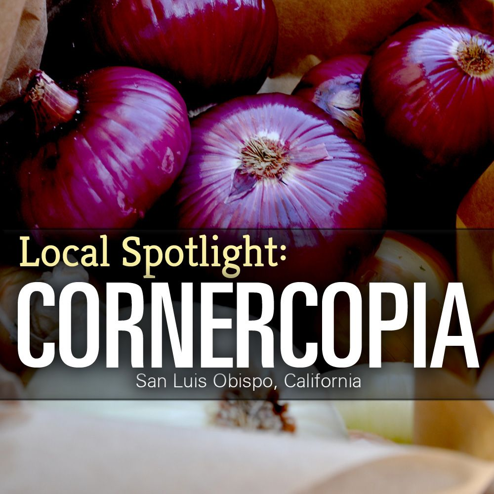 "Meet our ""SLOcal"" farmers and gain the inspiration to grow your own grub!  http://www.homefarmer.com/2013/08/local-spotlight-cornercopia/  ‪#‎greenthumb‬ ‪#‎eatlocal‬ ‪#‎growyourown‬ ‪#‎homefarmer‬"