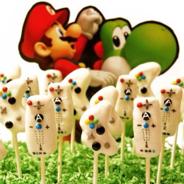 Wii & X Box Cake pops!!!