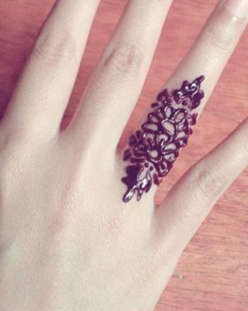 Cute Simple Henna Mehndi Designs For Fingers Henna Design Henna