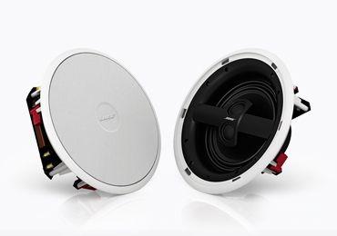 Virtually Invisible 791 Speakers は 従来の天井埋め込み型スピーカー とは一線を画す音の広がり感と 量感あふれる低音を再生するハイファイオーディオ用の天井埋め込み型スピーカーです 791 Speakers を天井に埋め込んで設置することで インテリア性を損なうことなく