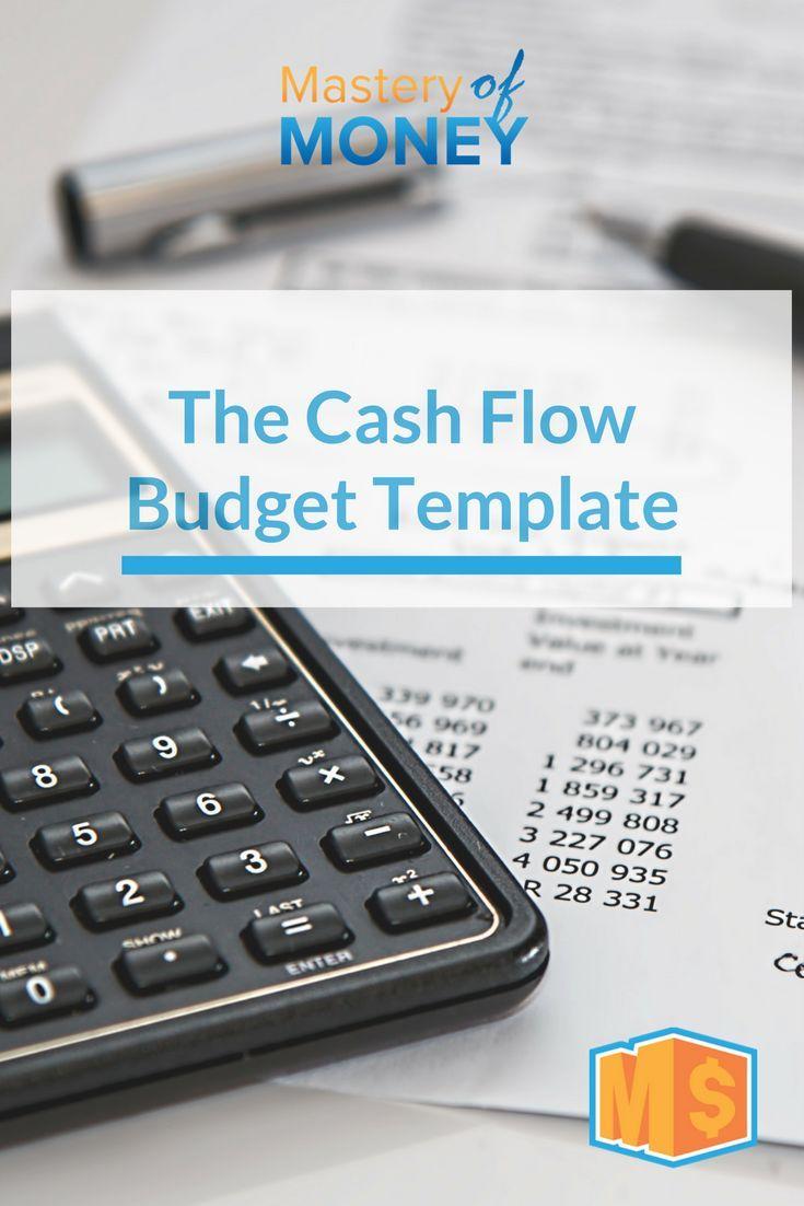 The Mom Cash Flow Budget Template Budgetingspending Plan