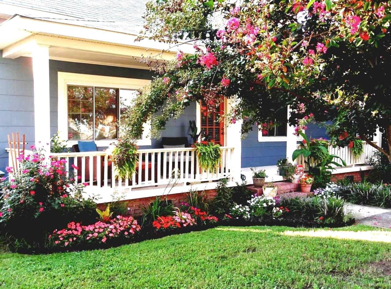 43 Best Front Yard Garden Landscaping Design Ideas And Remodel Garden Front Of House Front Garden Design Front Yard Landscaping Plans