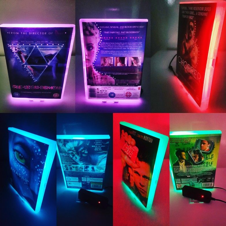Custom made Neon Dvd or BluRay,Any movie,just drop me a