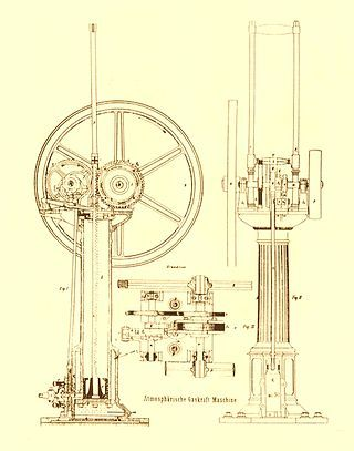 Otto Engine Wikipedia The Free Encyclopedia Combustion Engine Engineering Architecture Drawing