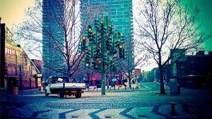 The Traffic Light Tree - London