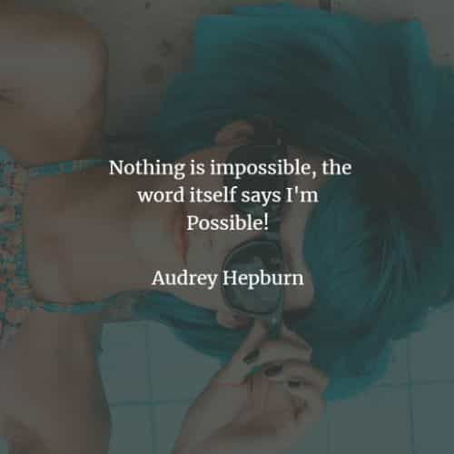 50 Famous quotes and sayings by Audrey Hepburn