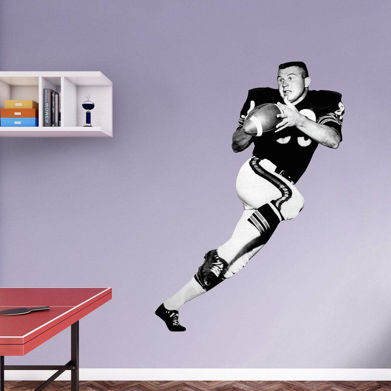 Fathead NFL Chicago Bears Mike Ditka Wall Decal   13 10179 Part 38