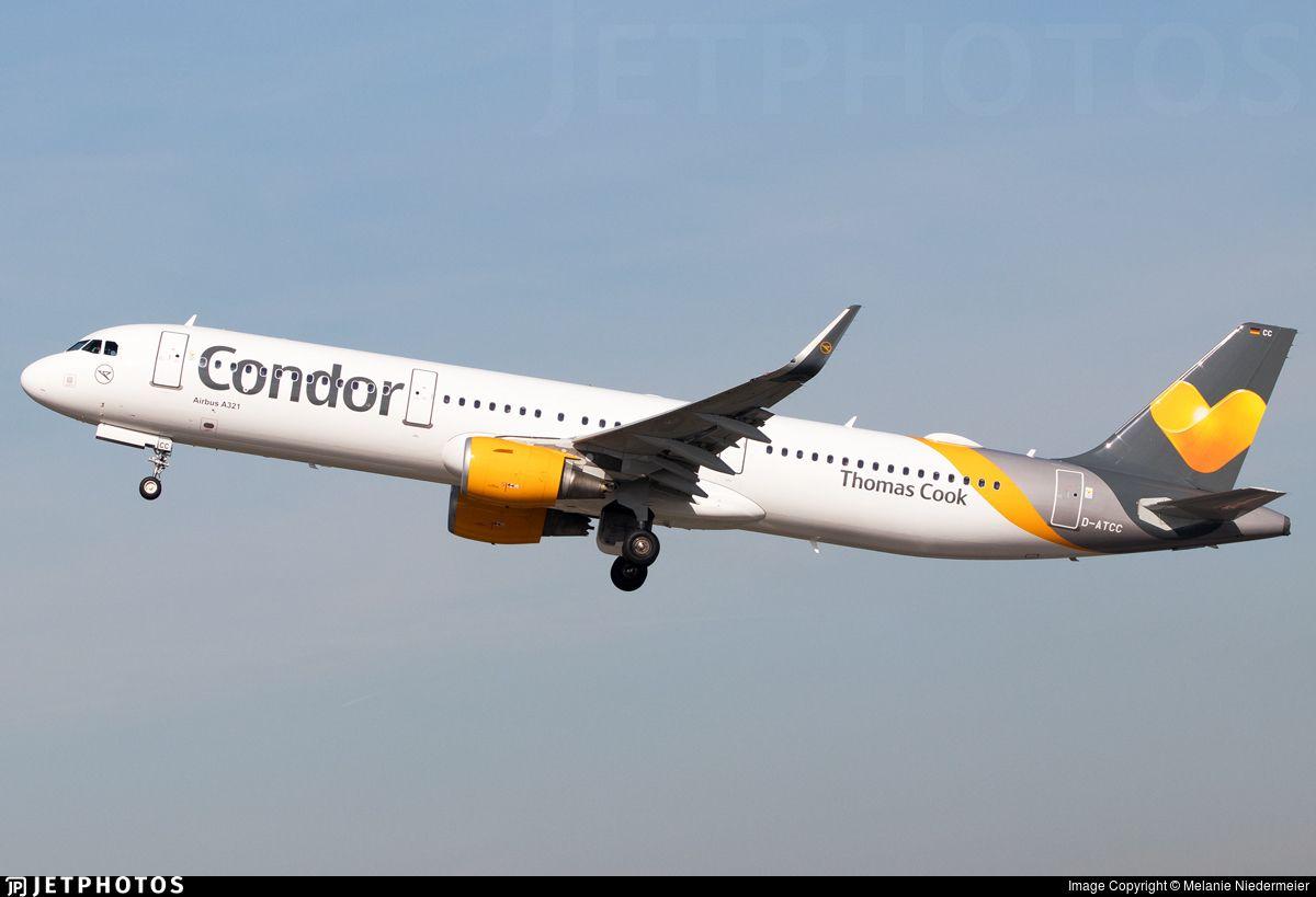 Airline Condor Registration DATCC Aircraft Variant