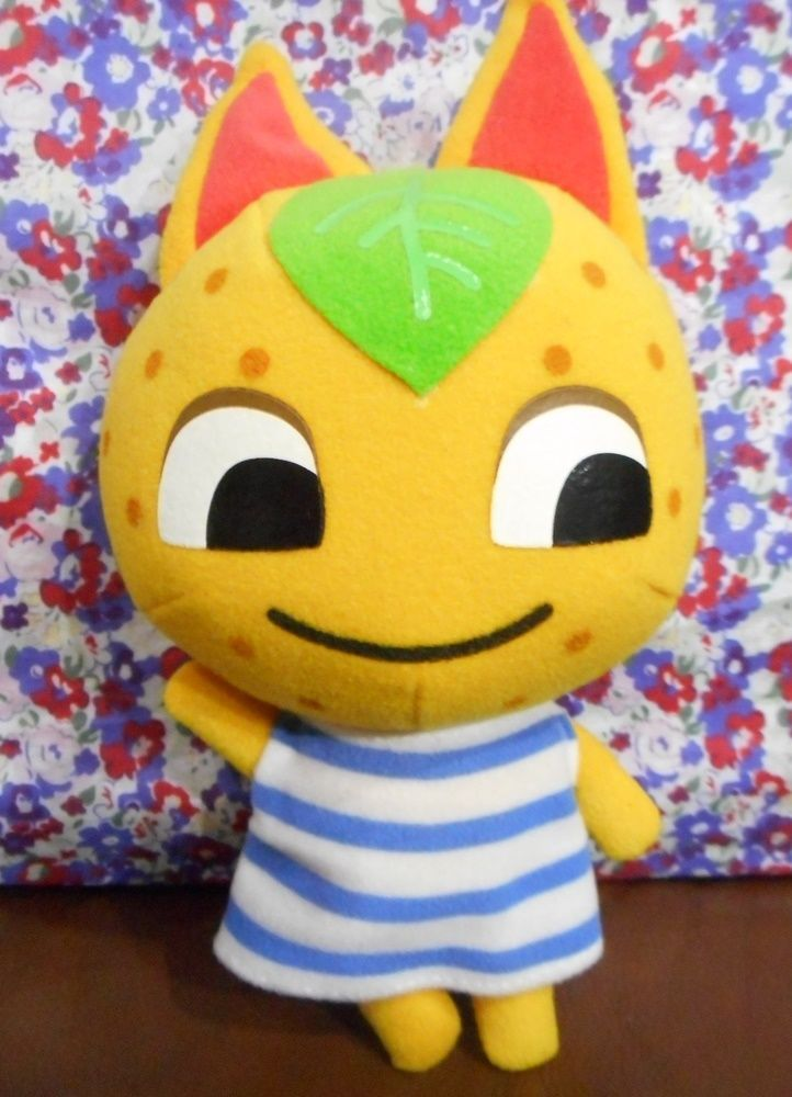 Very Rare Animal Crossing Plush Tangy 23cm 9inch Nintendo Japan Doll