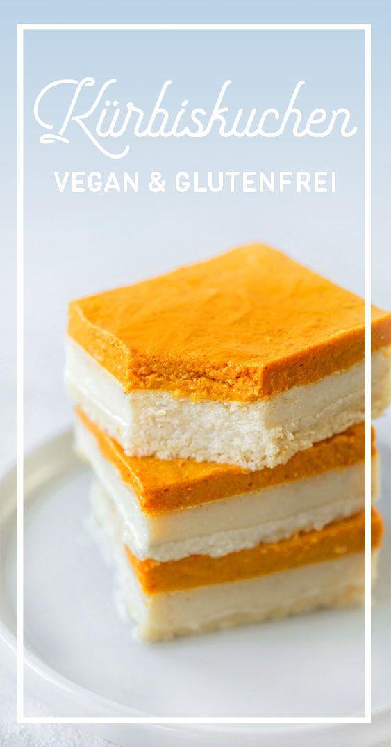 Joghurt Kürbis Kuchen | Foodreich ♥ Vegan Foodblog