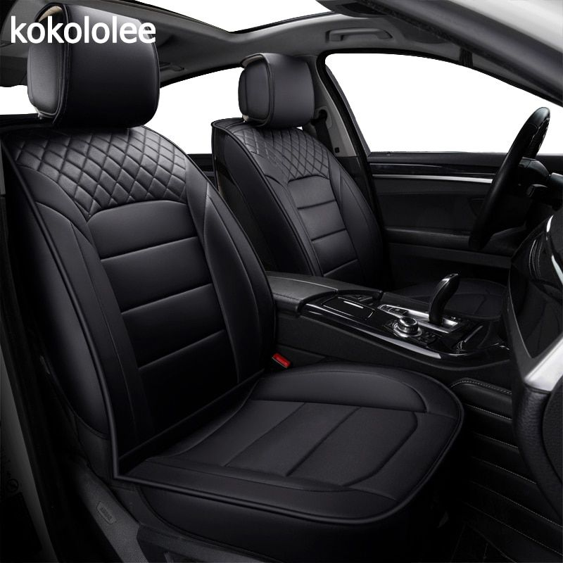 Car Back Seat Cover Breathable PU Leather Pad Mat for Auto Chair Cushion F150 U