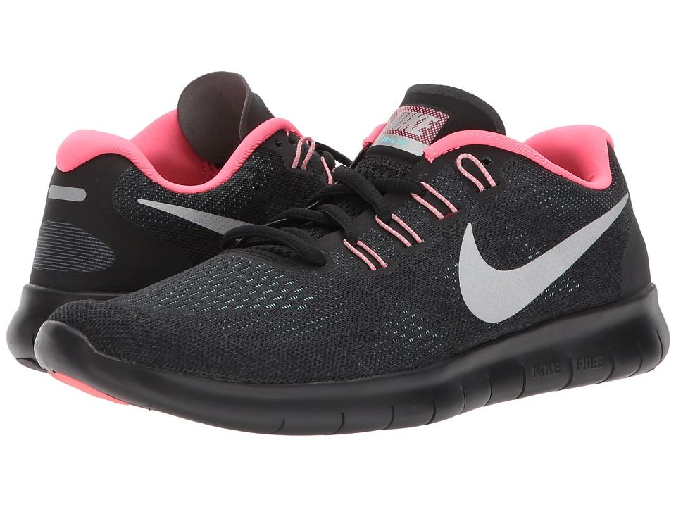 Nike Free RN 2017 Women's Running Shoes AnthraciteMetallic