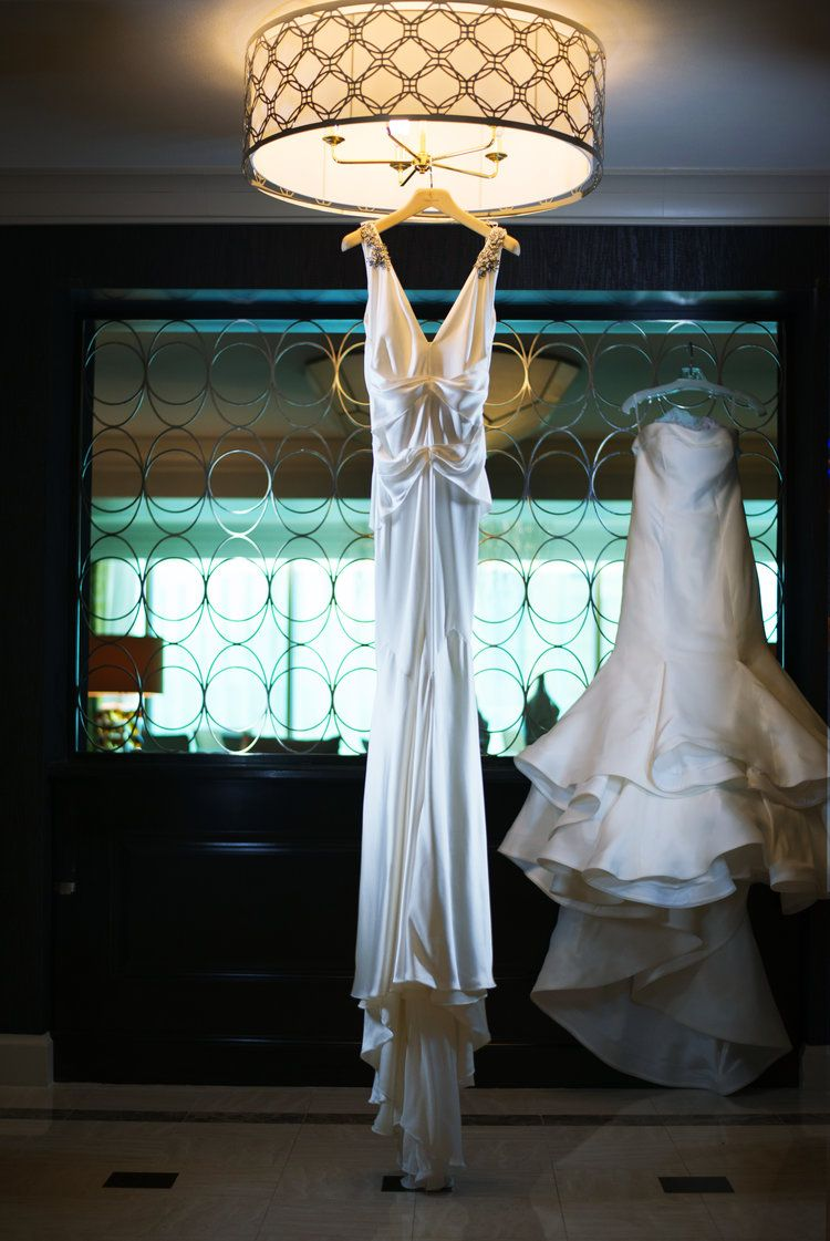 Chandeliers at the Four Seasons - The Dazzling Wedding of Jennifer ...