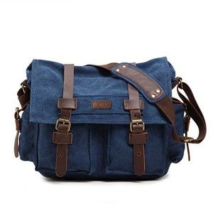 Katee Canvas Leather Shoulder Camera Bag Camerabags Co Uk