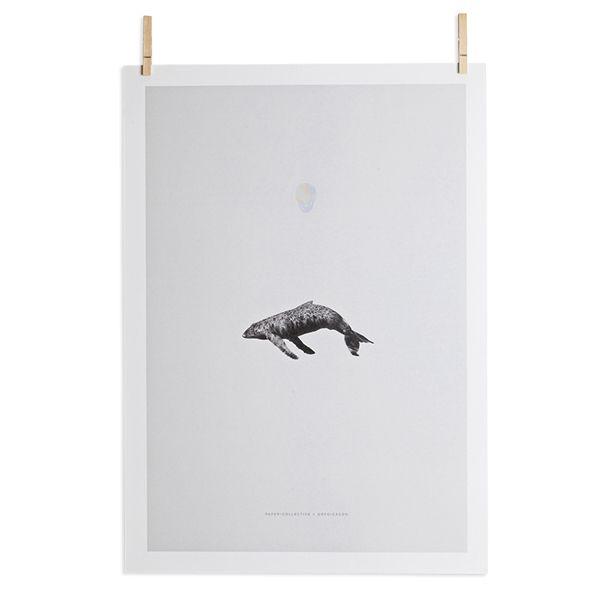 Paper Collectiven julisteita on painettu rajoitettu 300 kappaleen erä. Osa jokaisen julisteen tuotosta menee hyväntekeväisyyteen.
