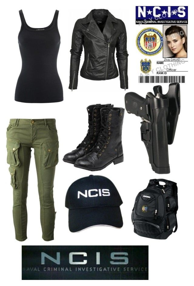 NCISZiva David by meganmoncellor5 on Polyvore featuring