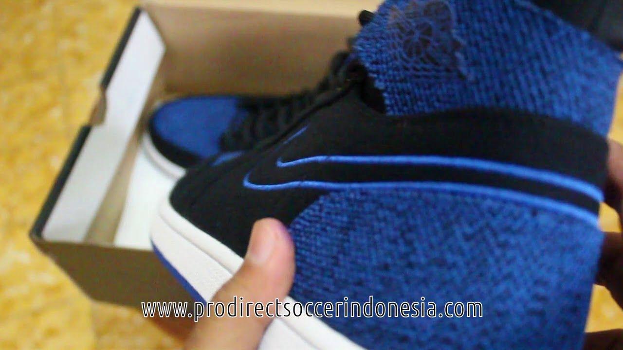 Sepatu Basket Nike Air Jordan 1 Retro Ultra High Black Sport Royal 84470 Sepatu Basket Sepatu Retro