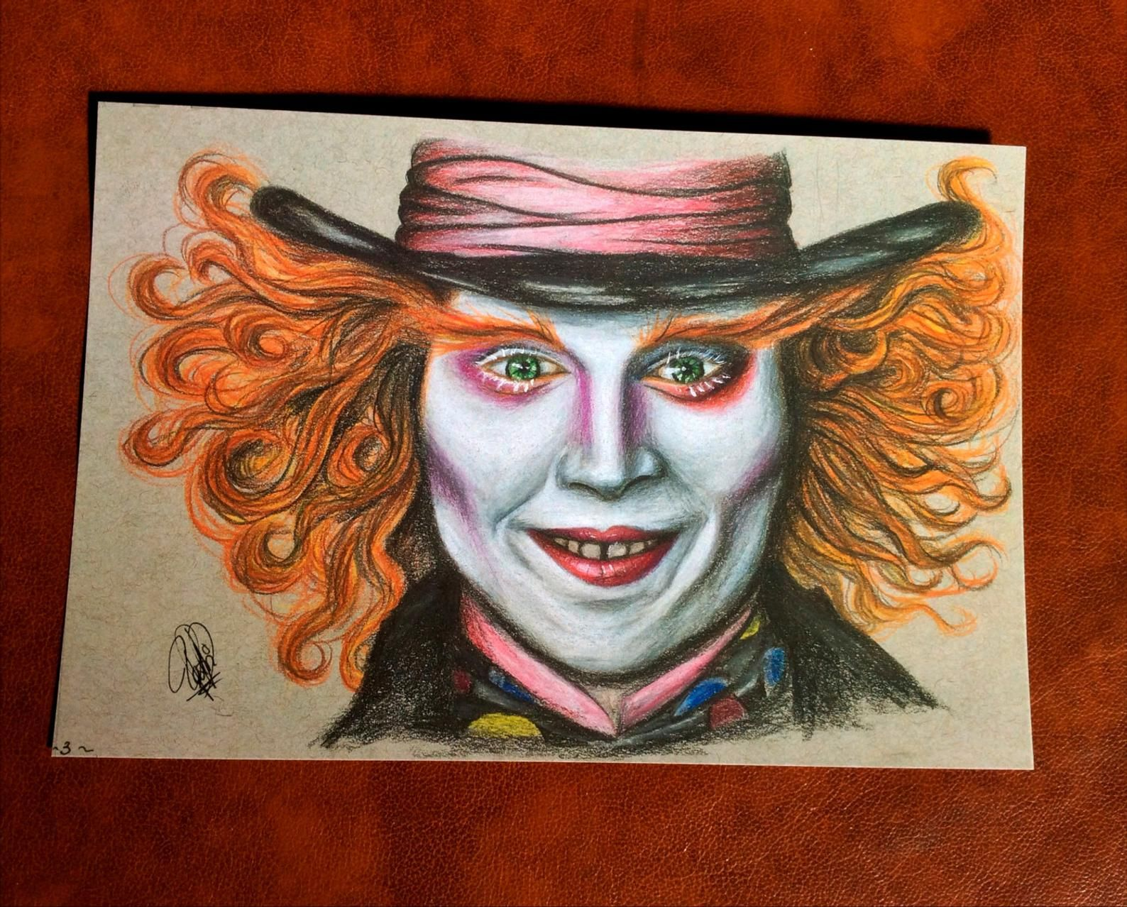 Alice in Wonderland iPad background Johnny Depp, The Mad