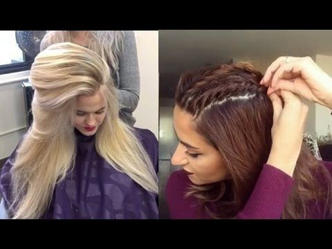 Girls New Most Beautiful Hairstyles Video 2017 Youtube