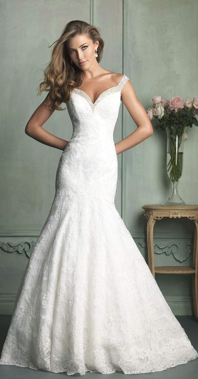 Dropdead gorgeous allure bridals wedding dresses white gowns
