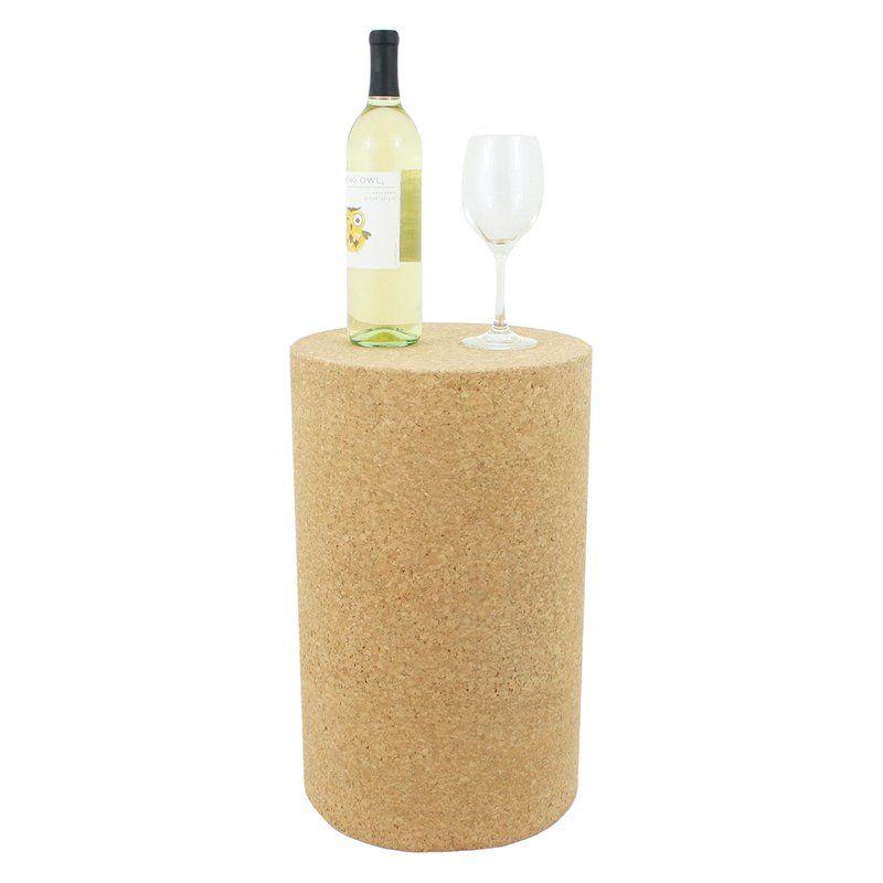 Sankey Cork Accent Stool Cork Stool Wine Cork Accent Stool