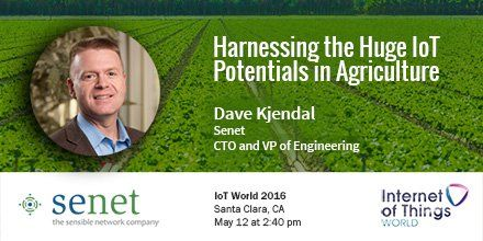Senet ‏@senetco: Senet CTO Dave Kjendal will be discussing #IoT productivity and efficiency at #iotworld16 http://www.senetco.com/events