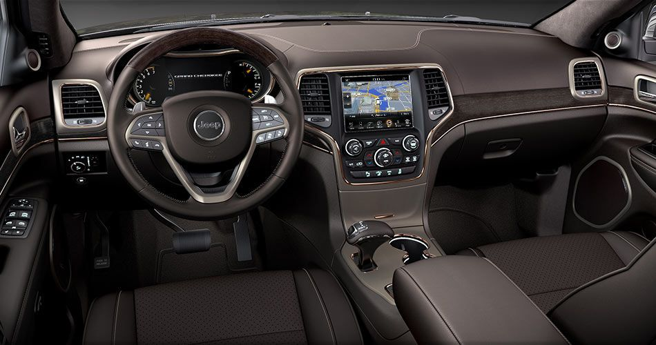 2014 Jeep Grand Cherokee Interior Leather Seats & 6