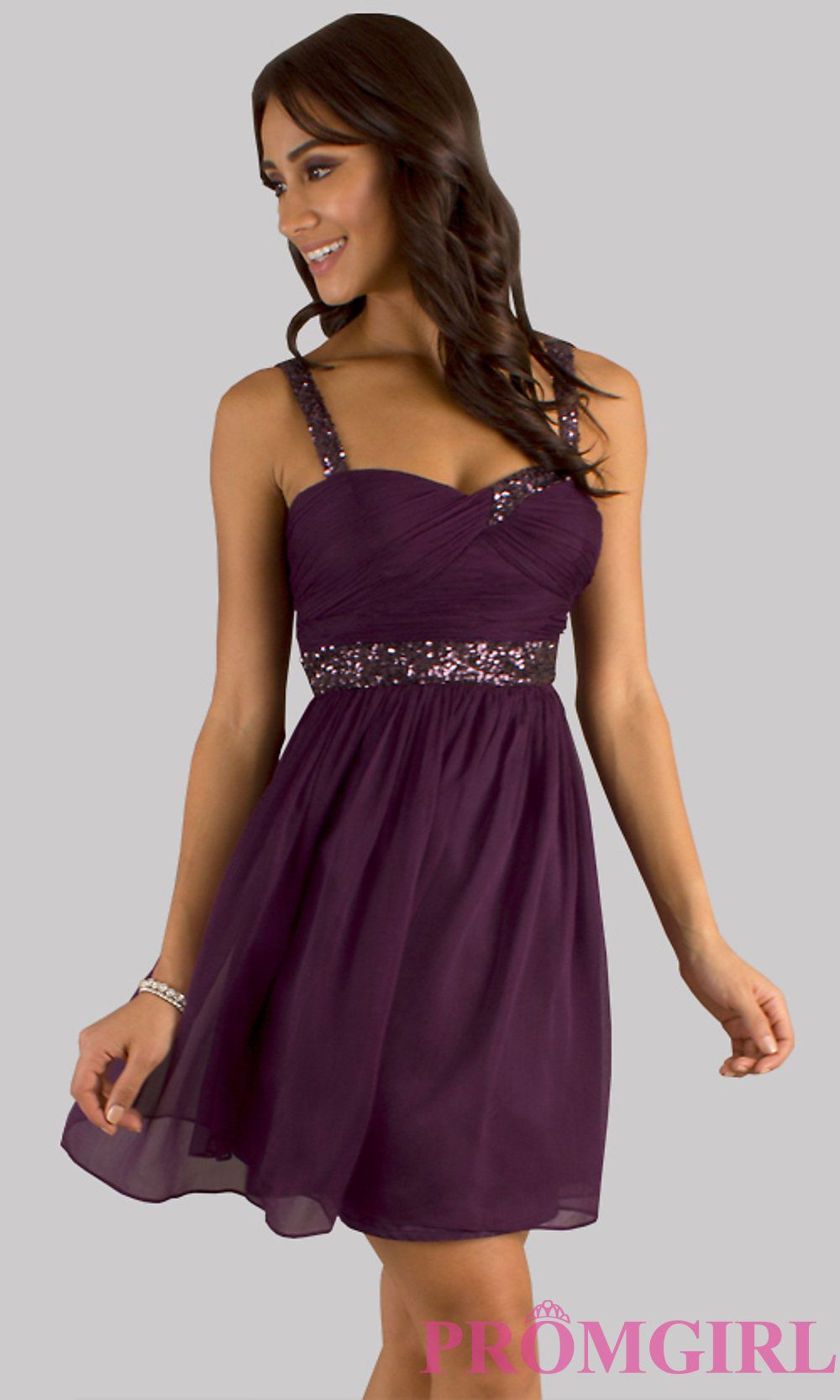 Short party dress sleeveless purple semi formal dress promgirl