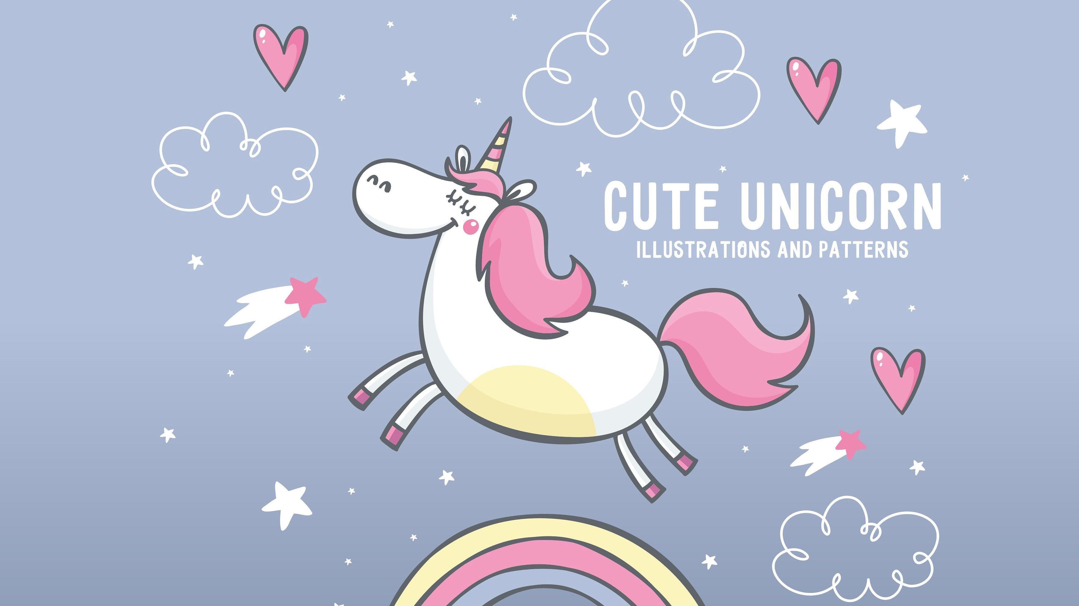 3543x1993 Unicorn Wallpaper Hd Group 68 Unicorn Illustration Unicorn Wallpaper Animated Unicorn