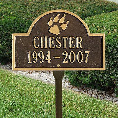 Arch Pet Memorial Marker