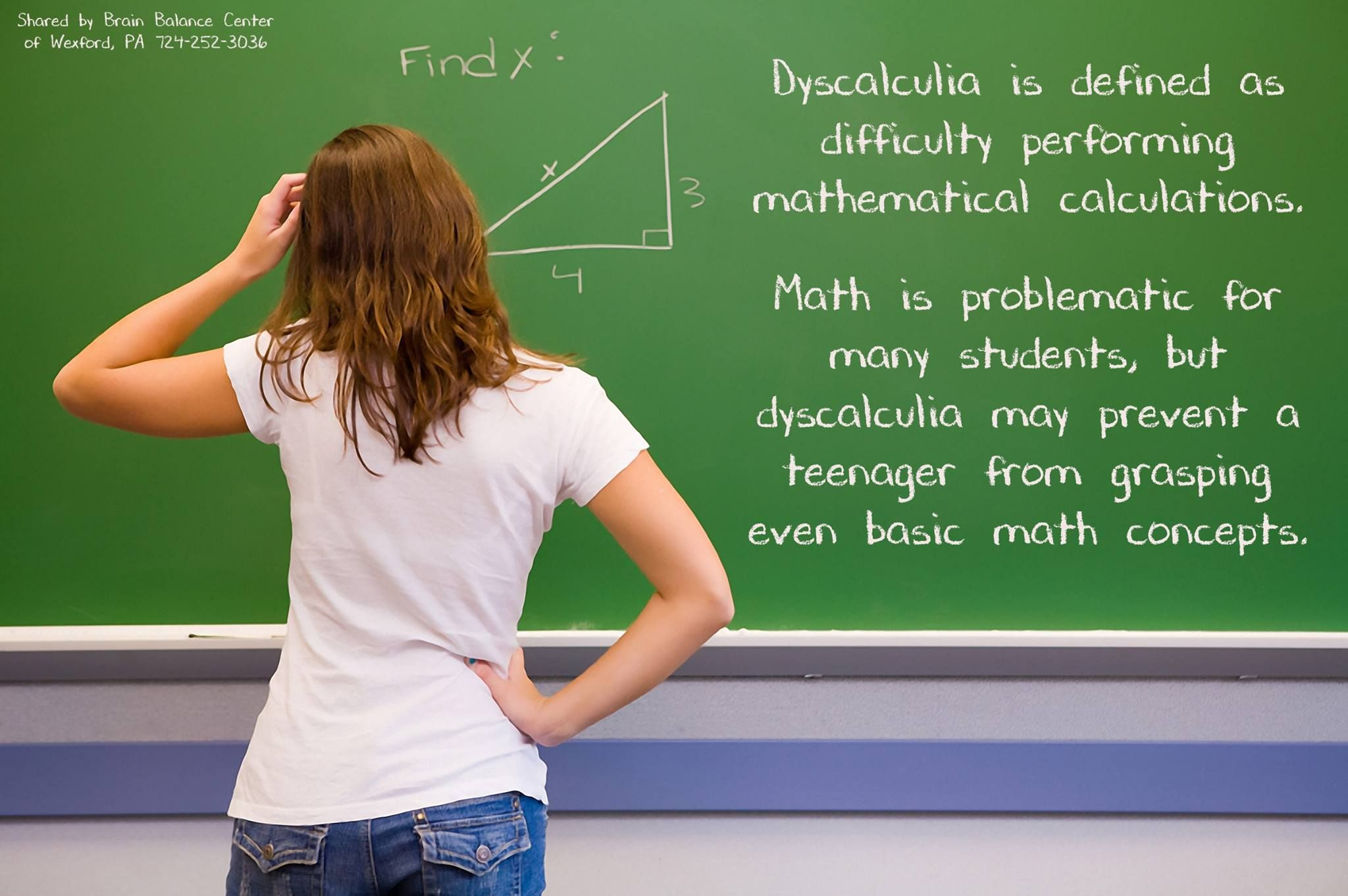 Dyscalculia Is Defined As Difficulty Performing Mathematical
