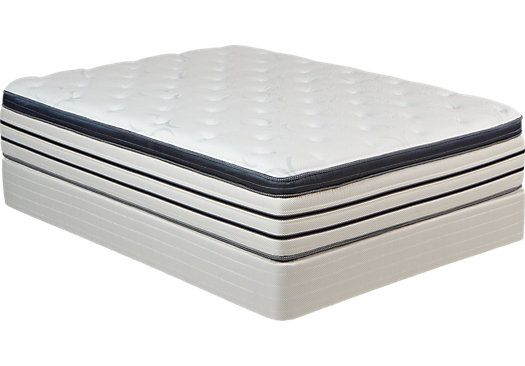 Rooms To Go Mattress >> Therapedic Crescendo King Mattress Set Homes Home Decor