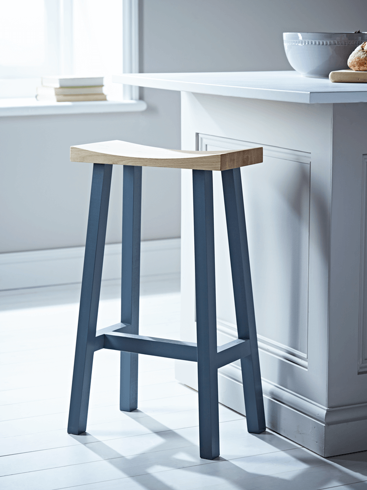 Our Tall Curved Top Stool makes perfect occasional seating for your ...