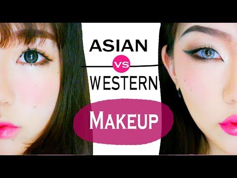 a31837ff4a3 Asian VS Western ↔ Sweet VS Sexy Makeup Styles Tutorial // Vivekatt -  YouTube
