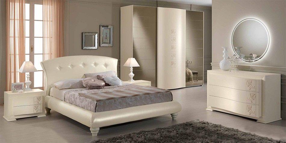 Gruppo spar mobili si riserva di apportare in qualsiasi momento,. Luna Neoclassical Italian Bed Bedroom By Spar 3 455 00 Bedroom Furniture Design Top Quality Bedroom Furniture Brown Furniture Bedroom