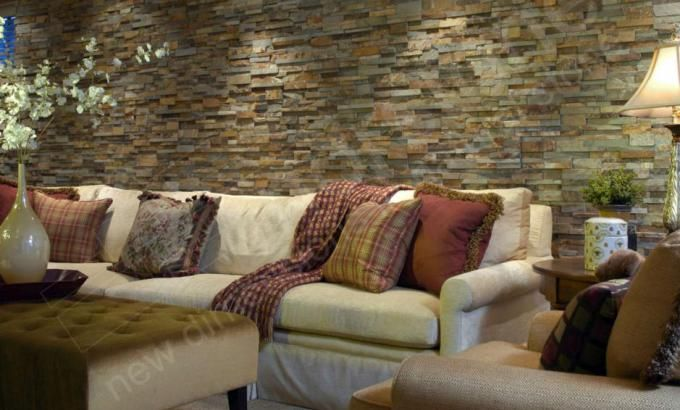 Natural Stone Feature Wall Stacked Stone Veneer Feature Wall Norstone Usa Concrete Basement Walls Stone Feature Wall Stone Wall Cladding