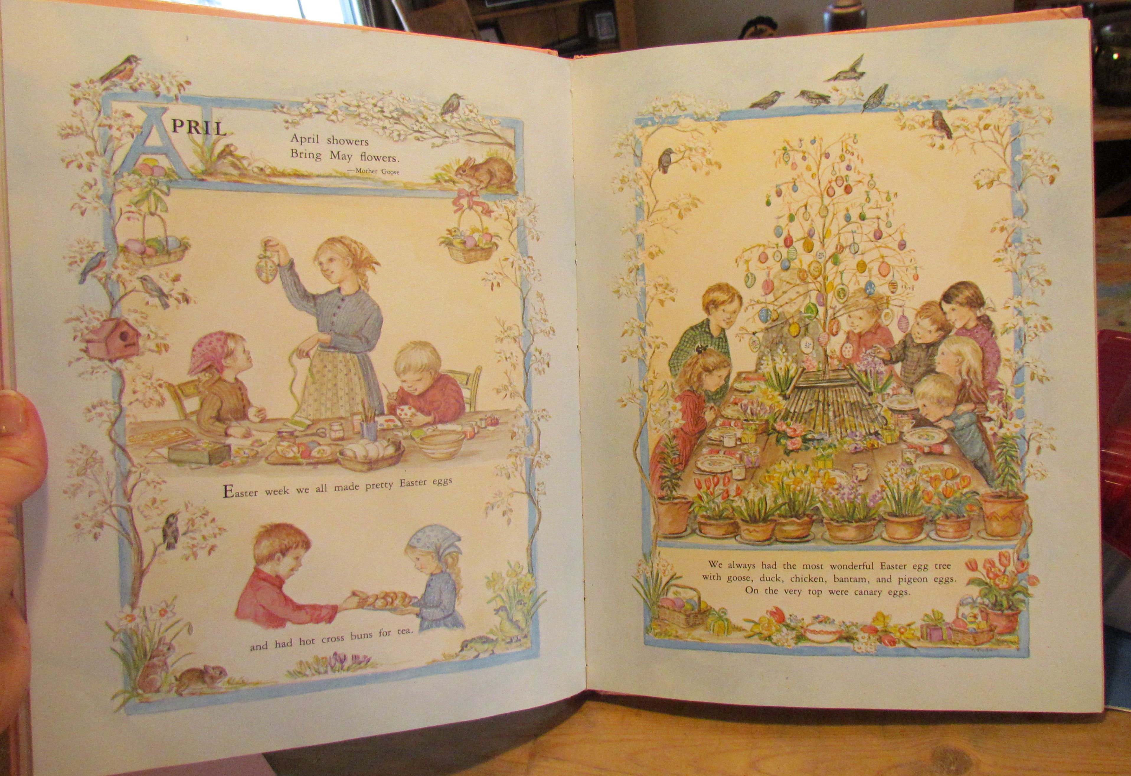 7f289533f8ea8d April ~ from  A Time to Keep  by Tasha Tudor