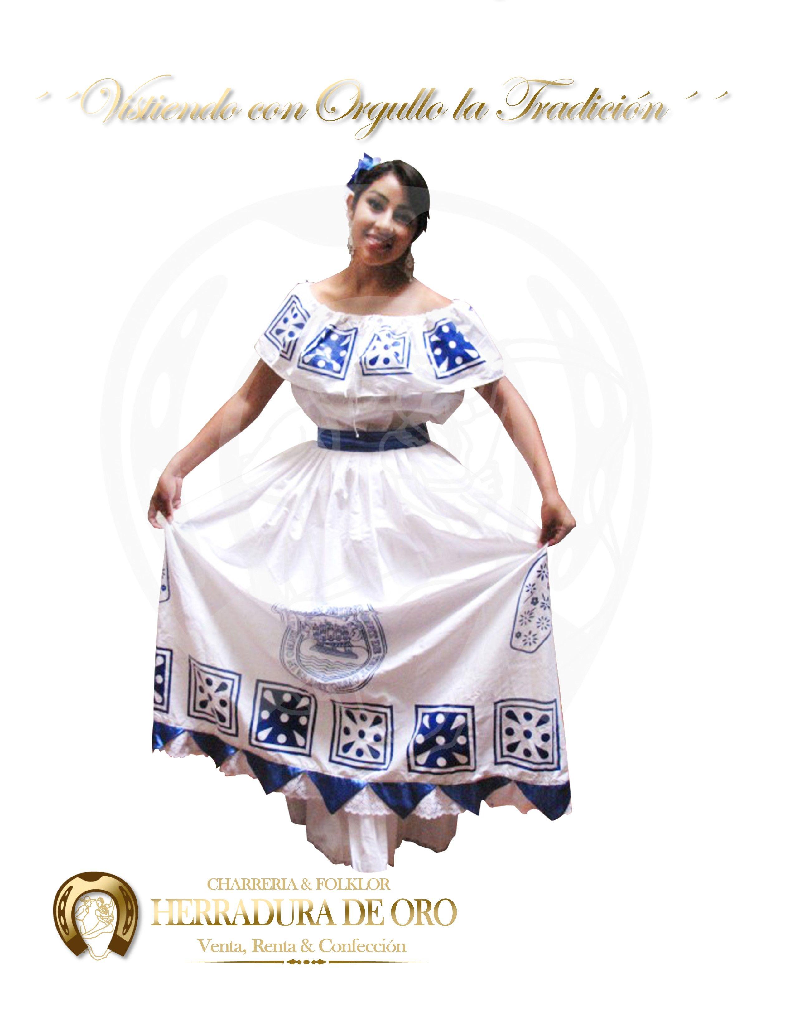 Traje Folklorico Del Estado De Talabera Puebla 4028 Venta