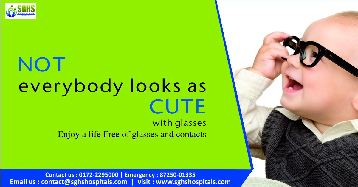 Iscover the world of freedom from glasses and contact
