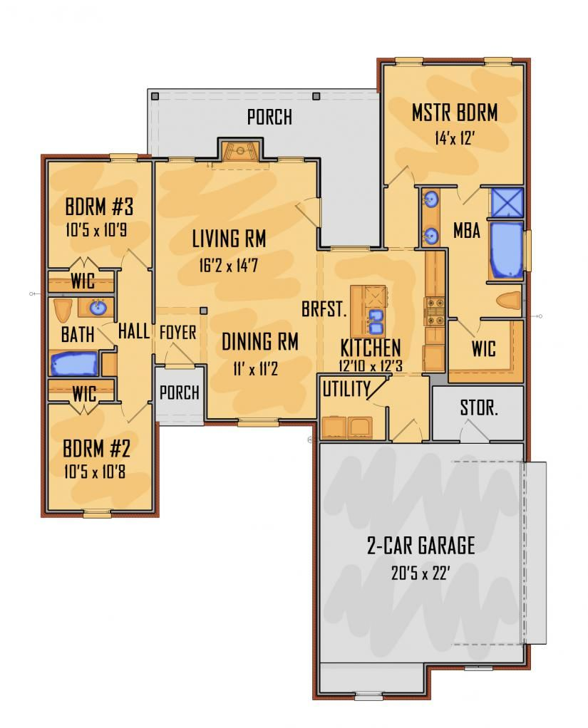 659204 Idg1910 House Plans Floor Plans Home Plans Plan It At Houseplanit Com With Images Floor Plans How To Plan House Plans