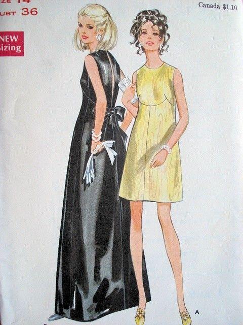 For Evening Dresses Butterick Patterns