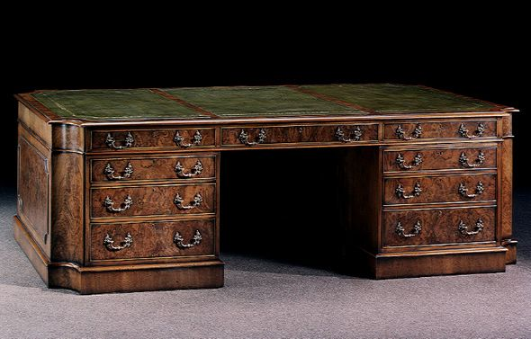 Image detail for -Replica Antique Furniture Writing Table Shaped Walnut Desk - Image Detail For -Replica Antique Furniture Writing Table Shaped