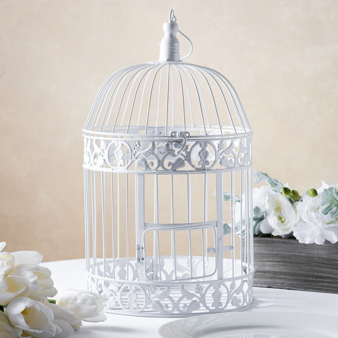 white bird cages for weddings | Bird cages | Pinterest | Bird cages ...