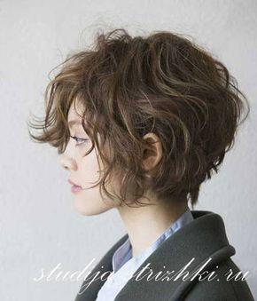 фото волнистые волосы на каре
