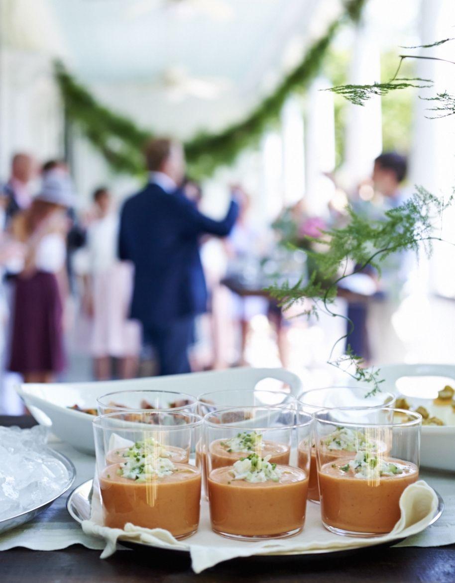 Chilled Heirloom Tomato Soup #myopenkitchen | Open Kitchen | Pinterest ...