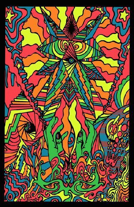 In My Room Psychedelic Art Poster Reprint 1969 Ebay Psychedelic Poster Psychedelic Art Poster Art
