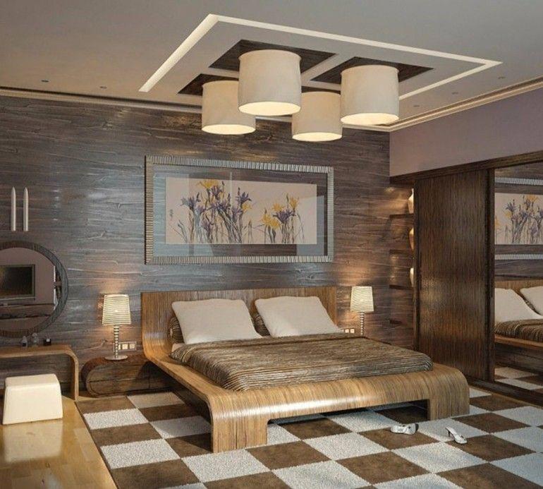 japanese-inspired-bedroom-design-wooden-tones-japanese-lighting- & japanese-inspired-bedroom-design-wooden-tones-japanese-lighting ...