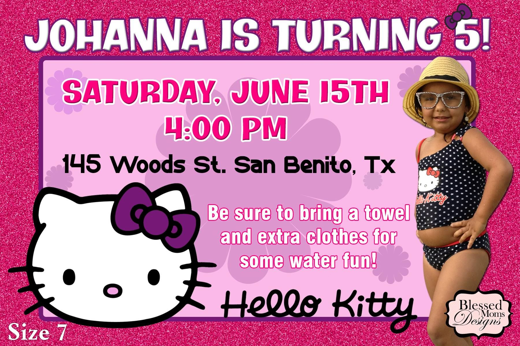 Birthday party invitation hello kitty theme httpsfacebook birthday party invitation hello kitty theme httpsfacebook stopboris Image collections